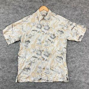 VINTAGE Marc Edwards Mens Button Up Shirt Size M Multicoloured Floral 71.05