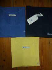 BEN SHERMAN PACK OF 3 VEST TOPS NAVY / BLUE / YELLOW NEW