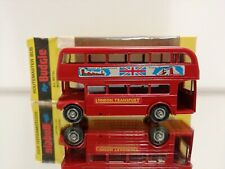 Budgie toys routemaster bus London transport A. E. C routemaster 64 seater