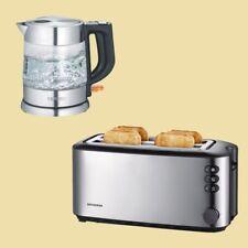 Severin Set -Wasserkocher WK 3468 + Doppel-Langschlitz-Toaster AT 2509