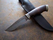 SLON Custom Outdoor / Jagdmesser Messer Rostträger Wootz-Stahl Schmelzdamast