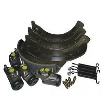 LAND ROVER SERIES 2 2A 3 LWB AFTERMARKET FRONT AXLE BRAKE SET 1 TON MODEL DA6044