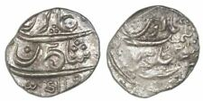 Bombay, India, 1/5 rupee, AH1131//1 (1717-18), NGC AU 53.KM-270. Very bold
