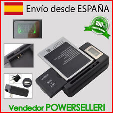 Caricabatterie Batteria Con LCD+USB / sony Ericsson Xperia Tipo ST21/ST21i/S