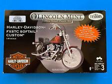 Testors Lincoln Mint ~ Harley Davidson FXSTC Softail Custom ~ 7205 Model Kit