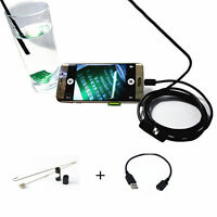 Water/Oil-proof Endoscope Borescope Inspection Camera for Car Moto Diagnostic US