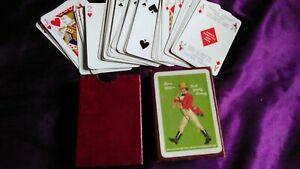 John Johnnie Walker & Sons PACK Playing Cards & CASE Whisky Confido Gold Berry