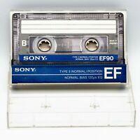Audio Cassette Sony EF 90