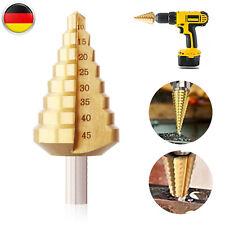 Stufenbohrer titannitriert 6-40.5 mm