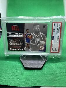 2017-18 Chronicles Base Rookies #116 Jordan Bell RC PSA 9