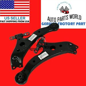 GENUINE TOYOTA HIGHLANDER LEXUS RX350 RX330 RX450h LOWER FRONT CONTROL ARM SET