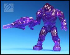 HALO MEGA BLOKS ACTIVE CAMO TRANSLUCENT PURPLE COVENANT ELITE ULTRA MINI FIGURE