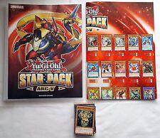 KONAMI Yu-Gi-Oh! Shonen Jump Star Pack ARC-V/ alle 98 Karten+Sammelmappe, Neu