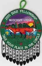 B7111 OA BSA Scouts   SR 5 DIXIE FELLOWSHIP 2005  MUSCOGEE 221