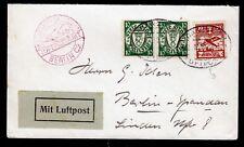 Danzig 202,194(2) a. Luftpost-Brief 31.12.30 n. Berlin
