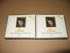 Elvis The Legend Lives On Readers Digest 5 cd + Booklet Box Set 1987 Ex Conditio