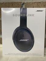 NEW ! NIB BOSE Soundlink Around-Ear Wireless Headphones II Black *Sealed*