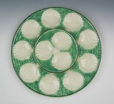 Longchamp Large Oyster Plate Centerpiece Platter France/French Majolica