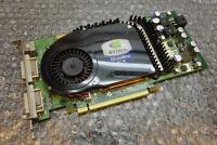 256MB Dell nVidia Quadro FX 3450 PCI-e Dual Head DVI Graphics Card T9099 0T9099