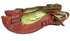 Tiggers Damen Pumps, Sandaletten, rot, Leder, Gr 39