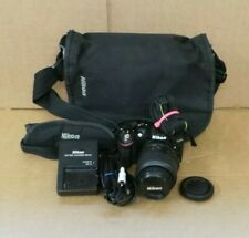 (Pa2) Nikon D3200 Camera with 18-55mm lens , Charger, Battery and Bag