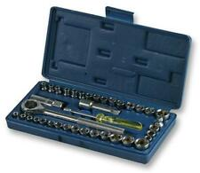 "Duratool General Tool Kit & Carry Case, 40 Piece 1/4"" & 3/8"""