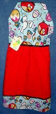 **NEW** Angry Birds Easter Red Holiday Hanging Kitchen Fridge Hand Towel #1003