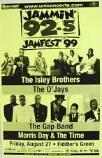 Isley Brothers / O'Jays 1999 Denver Concert Tour Poster - Classic R&B Soul Music