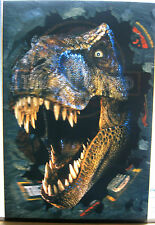 LOST WORLD: JURASSIC PARK 1997 RARE 27X40 Lenticular Theatrical One-Sheet Poster