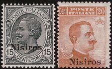 EGEO NISIROS 1921/22 - n. 10/11 V. EM. III INTEGRI € 412,50