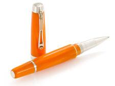 """Montegrappa """"Passione"""" Orange Color Rollerball Pen Model: ISPNTRCO"""