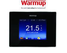 Warmup 4iE Smart WiFi Thermostat - Onyx Black
