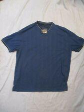 Mens Mans George Blue Casual  T Shirt Size Medium