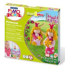 New FIMO Kids Form & Play Set Princess Modelling Jewellery Craft Art Fun