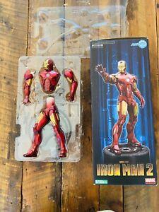 Kotobukiya IRON MAN 2 Marvel ARTFX Mark IV Statue (RARE) 1/6 SCALE Painted