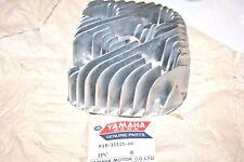 nos Yamaha snowmobile cylinder head 1971 ss433 gp433 gp433ss gp433sr mag side