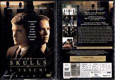 THE SKULLS (I TESCHI) - DVD NUOVO E SIGILLATO, PRIMA STAMPA, NO EDICOLA