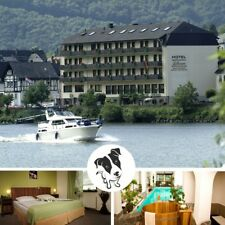 3 Tage Urlaub mit Hund Wellness Mosel Ufer 3★ Superior Hotel Lellmann Kurzurlaub