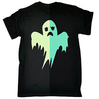 Glow In The Dark Ghost T-SHIRT Spooky Party Halloween Party Gift birthday funny