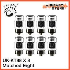 8pcs Psvane HiFi UK-KT88 Matched Eight Replace EH Gold Lion JJ SVETLANA KT88