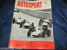 ITALIAN GP MONZA 1964 JOHN SURTEES FERRARI 158 Bruce McLaren LORENZO BANDINI f1