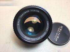 Super-Multi-Coated Takumar 50mm f/1.4 1.4/50 SMC pentax lens COLLECTOR quality