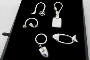 Key Rings Sterling Silver 925 Hand Crafted