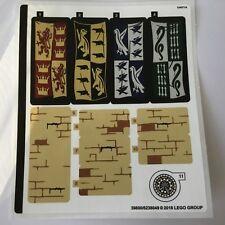 Lego Sticker Aufkleber 2 aus Harry Potter 75954 Hogwarts NEU