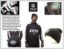 Men's New York Jets NFL Apparel Green/Gray Long Sleeve T-Shirt/Toboggan: Size XL