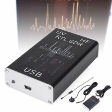 100KHz-1.7GHz full Band UV HF RTL-SDR USB Tuner Receiver R820T+8232 Ham Radio