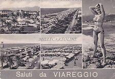 VIAREGGIO - Saluti - Vedute 1958