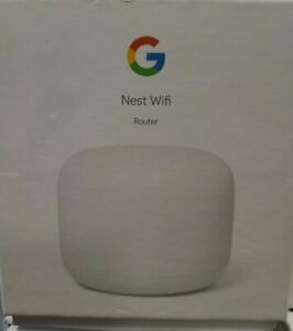 Google Nest WiFi AC2200 Dual-Band Mesh Router