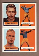 COMPLETE 1957 Topps Green Bay Packers TEAM SET - 1994 Archives - Starr Hornung !