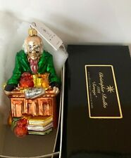 "New Listing1998 Christopher Radko ""Scrooge"" A Christmas Carol Series Ornament Ltd Ed Nib"